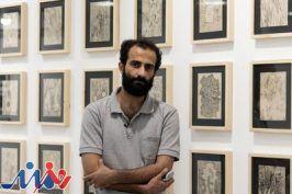 تیکدرینژاد: رشته اتصال آثار نمایشگاه «بالقلم» پیروی از وحدت وجود است