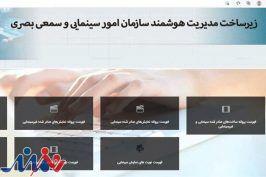 فهرست پروانه ساخت، نمایش و گواهی مالکیت آنلاین شد