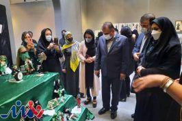 ششمین نمایشگاه لباس عاشورایی افتتاح شد