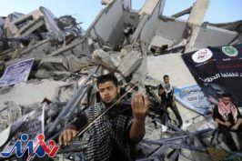 کنسرت هنرمندان فلسطین در ویرانههای حمله ۱۱ روزه صهیونیستها